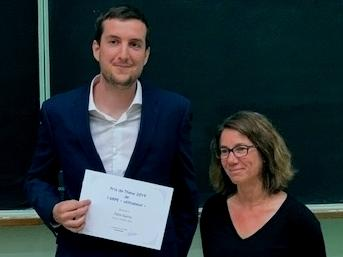 Prix de thèse ARPE 2019 pour Patxi Garra