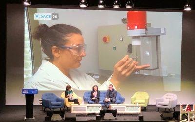 Participation de Simona Bennici à  la Journée de l'innovation de l'ANR