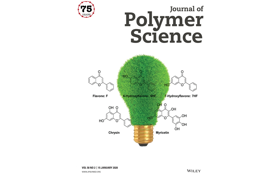 Couverture de Journal of Polymer Science